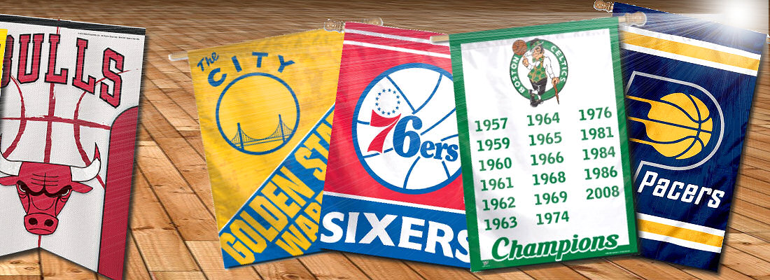 NBA Team Banners