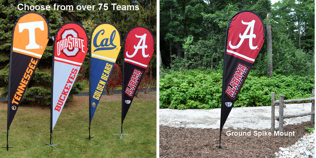 College Feather Flags