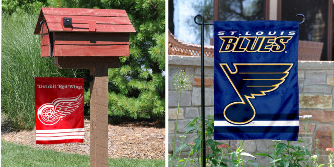 NHL Yard and Garden Flags