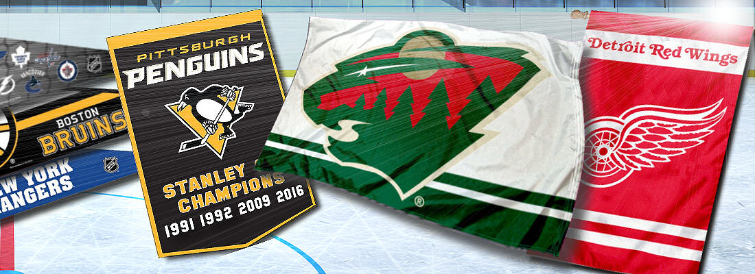nhl flags your nhl flags and hockey decorations source