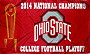 Ohio State Buckeyes Football National Champs Flags