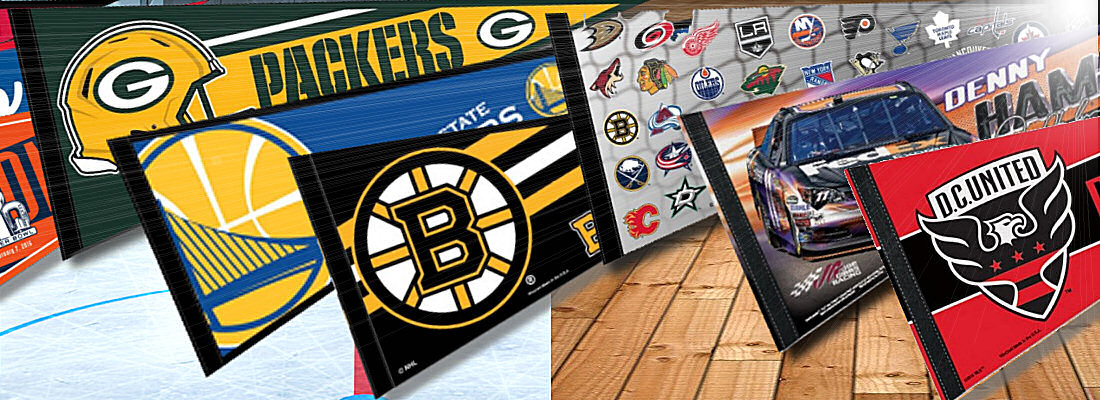 Sports Team Logo Pennants