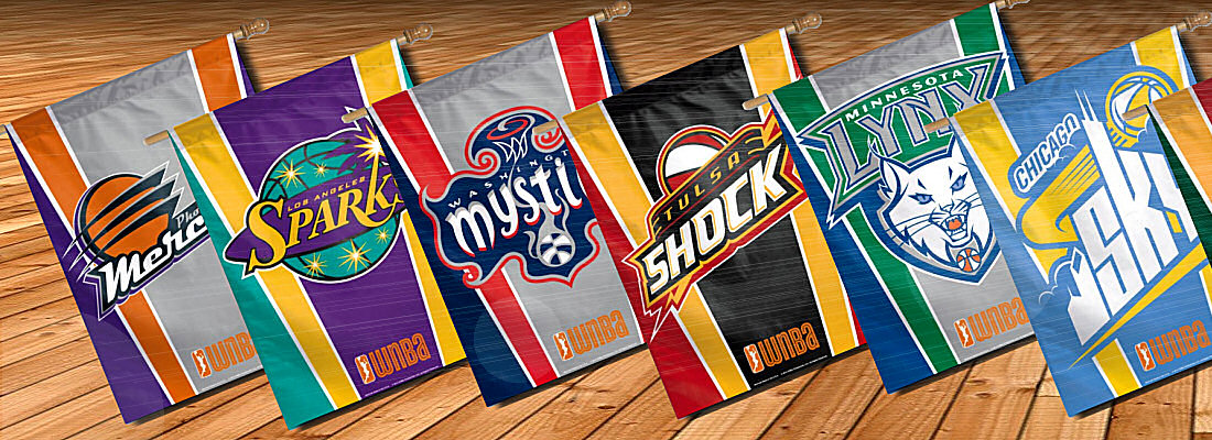 WNBA Pennants and WNBA Flags