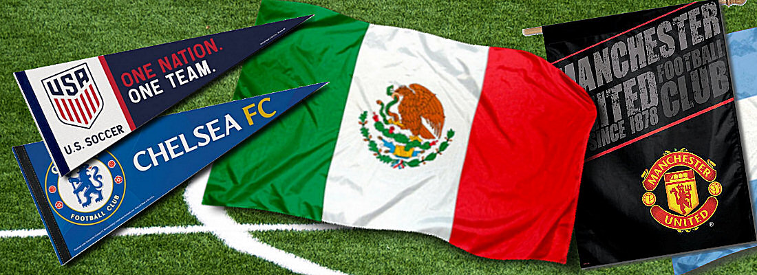 World Soccer Flags