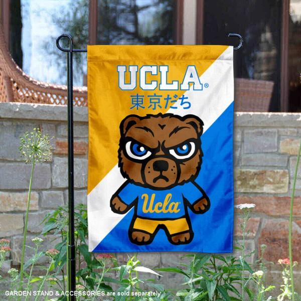 university of california los angeles tokyo dachi mascot yard flag