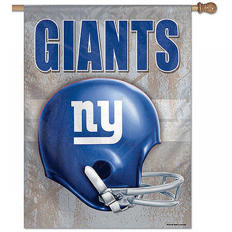 aa87ac6d New York Giants Throwback Helmet Flag and NY Giants Throwback Banner
