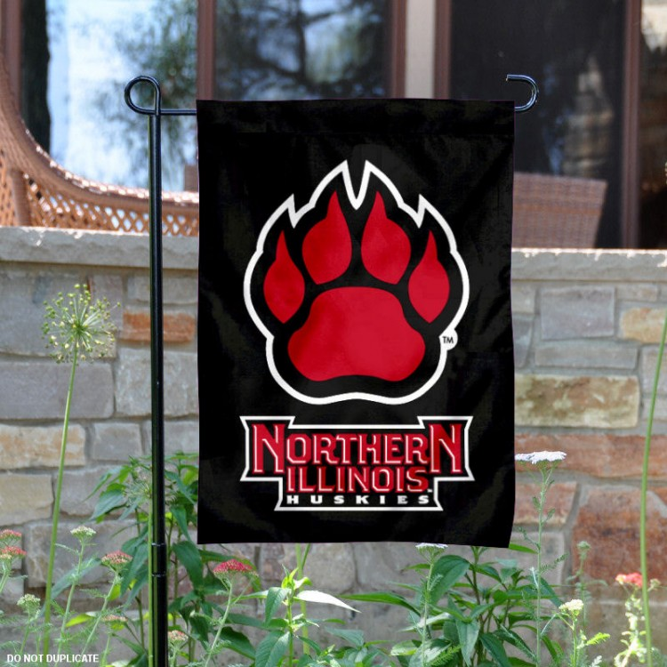 NIU Northern Illinois University Huskies House Flag College Flags and Banners Co