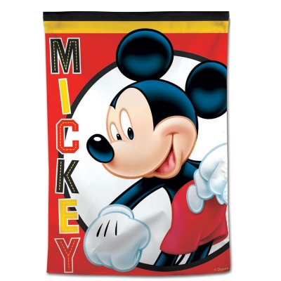 "Green Bay Packers NFL Mickey Mouse Football House Flag Licensed 28/"" x 40/"""