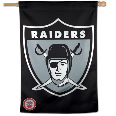 low priced cd6c7 97536 Oakland Raiders Retro Throwback House Flag and NFL Retro ...