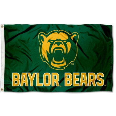Baylor BU Bears 4x6 Flag College Flags and Banners Co