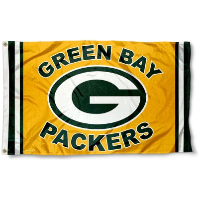 Green Bay Packers Logo Flag And Green Bay Packers Logo Flags