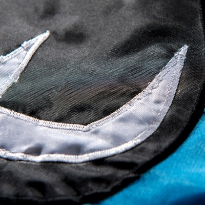 brand new 3b3e9 8613f Carolina Panthers Embroidered Nylon Flag and Carolina ...