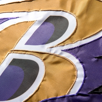 Wincraft Baltimore Ravens Embroidered Nylon Flag