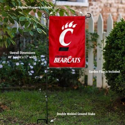 Cincinnati Bearcats Banner with Hanging Pole
