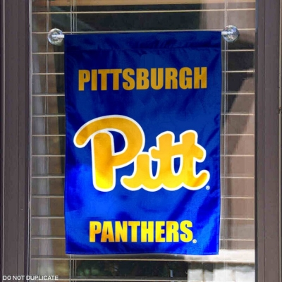 College Flags and Banners Co Pittsburgh Panthers Gold Flag