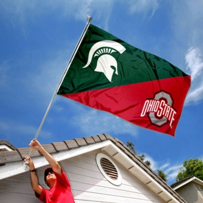 Michigan State Vs Ohio State House Divided 3x5 Flag Your Michigan State Vs Ohio State House Divided 3x5 Flag Source