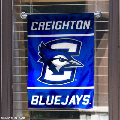 Creighton Bluejays New Logo Banner with Hanging Pole