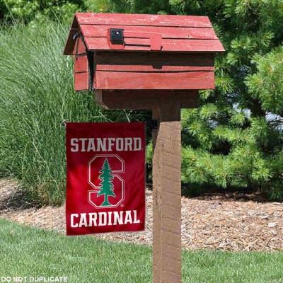 Stanford Cardinal Logo Garden Flag